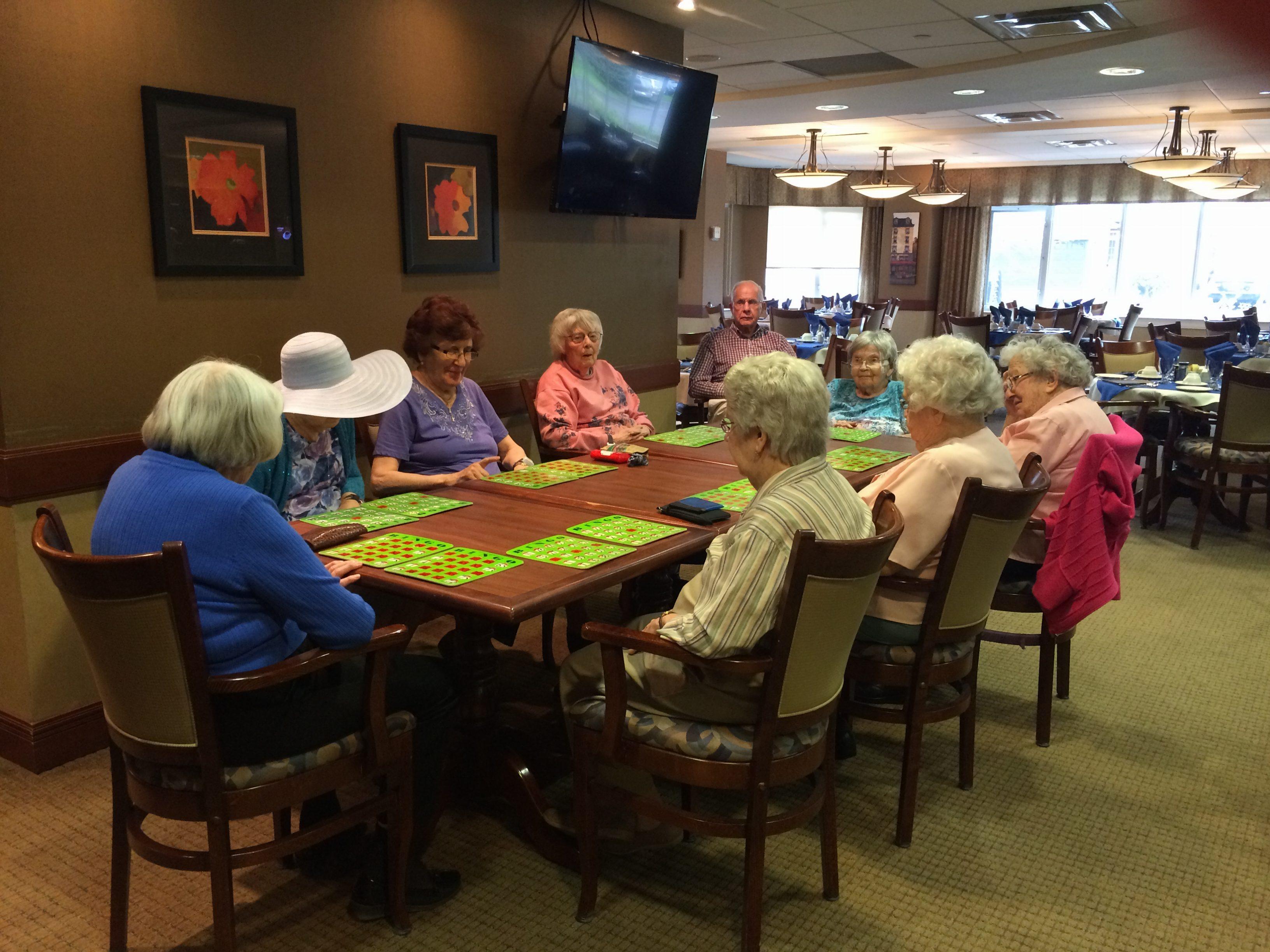 Bingo at Park Place